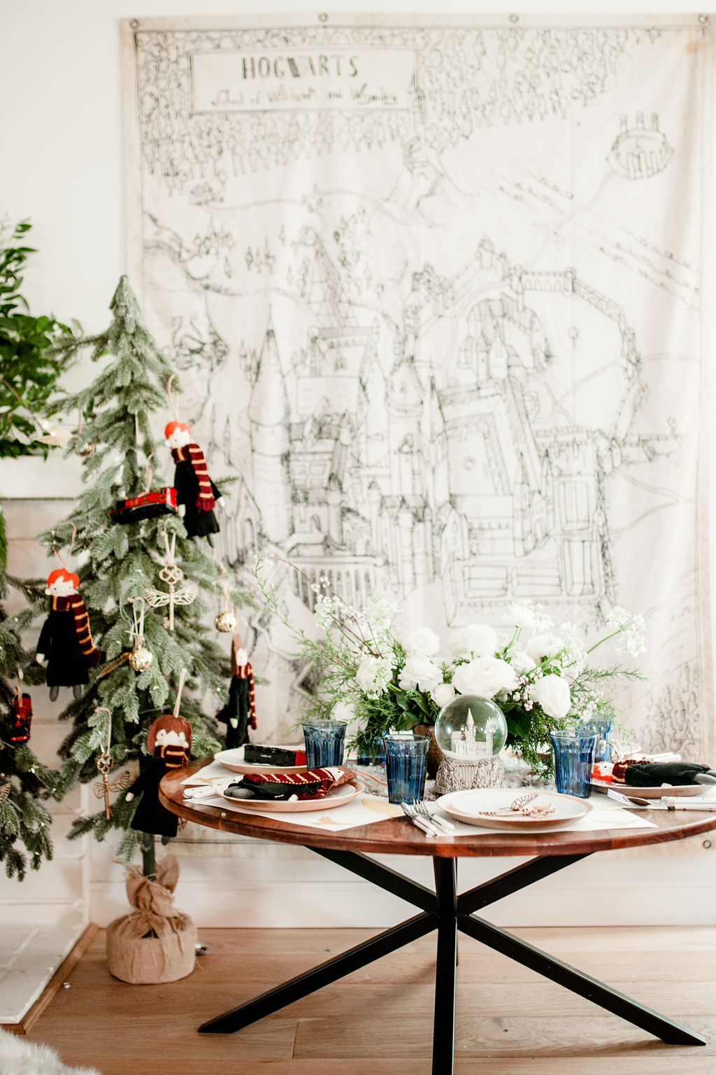 A Magical Harry Potter Christmas Party With Pottery Barn Kids Beijos Events